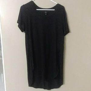 Mossimo Supply Co. Tops - Mossimo Black Stretch Side Split